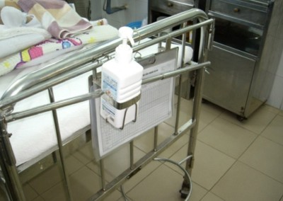 Hand Hygiene facilities in 2007 at the same hospital