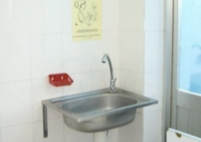 Changes-4Hand Hygiene facilities in 2007 at the same hospital