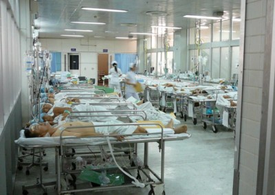 PACU in one of the hospitals