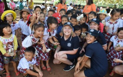 Townsville's Pimlico State High visits Bong Trang Primary School
